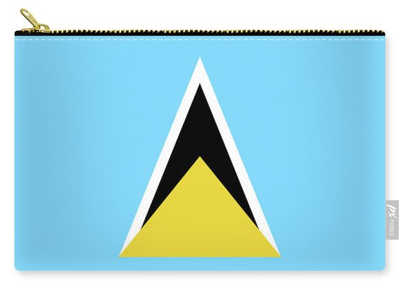 Flag Of Saint Lucia Carry-all Pouch