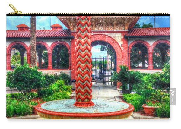 Flagler College Fountain Carry-all Pouch