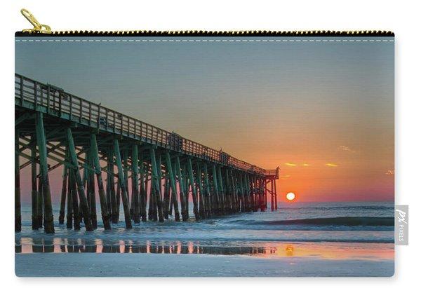 Flagler Pier Sunrise Carry-all Pouch