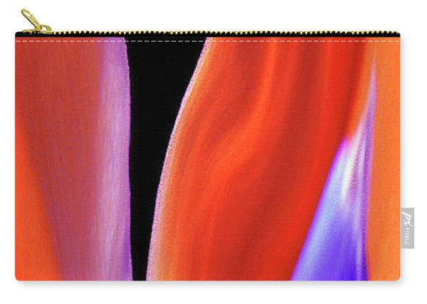 Flame - Bird Of Paradise   Carry-all Pouch