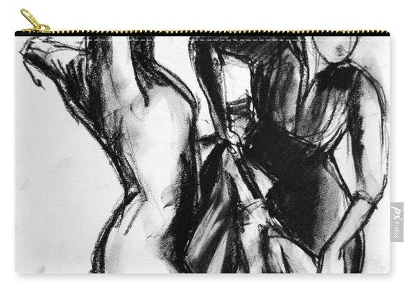 Flamenco Sketch 1 Carry-all Pouch