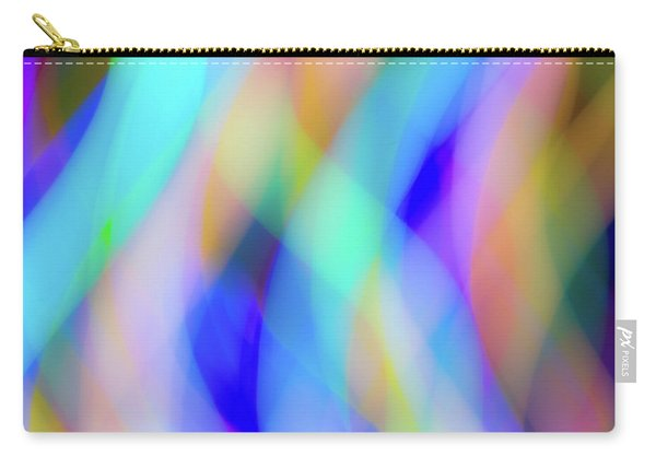 Flames Of Iridescence Carry-all Pouch