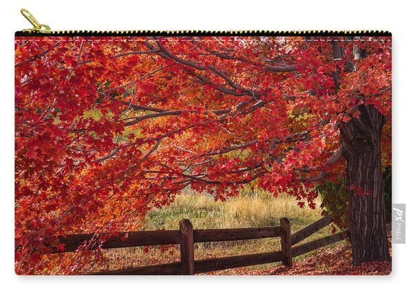 Flames On The Fence Carry-all Pouch