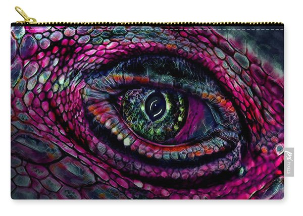 Flaming Dragons Eye Carry-all Pouch