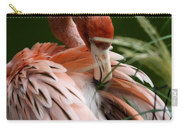 Flamingo Boudoir Carry-all Pouch