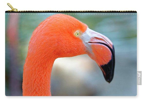 Flamingo Portrait Carry-all Pouch