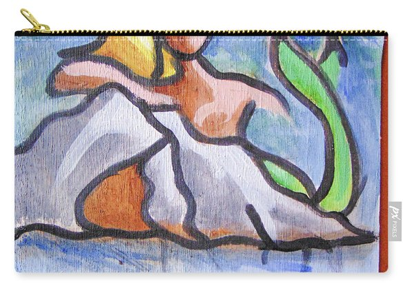 Carry-all Pouch featuring the painting Fland by Loretta Nash
