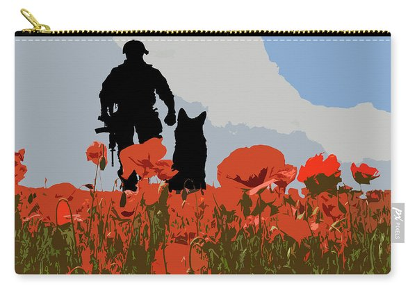 Flanders Fields 10 Carry-all Pouch