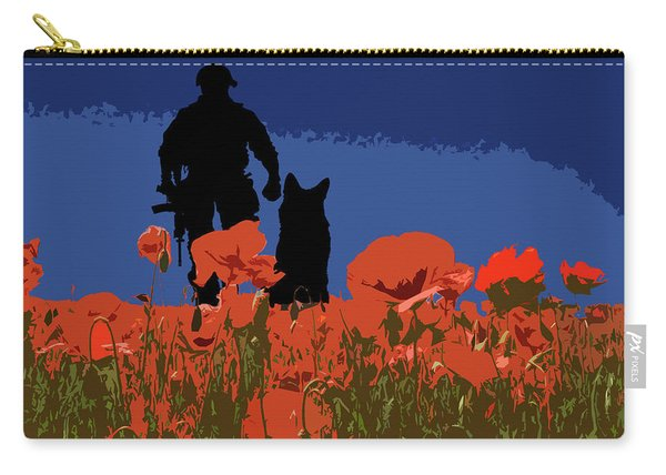 Flanders Fields 12 Carry-all Pouch