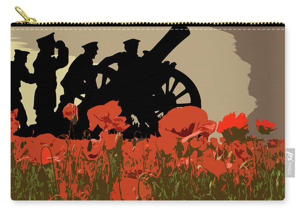 Flanders Fields 3 Carry-all Pouch