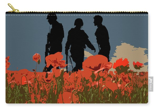 Flanders Fields 5 Carry-all Pouch
