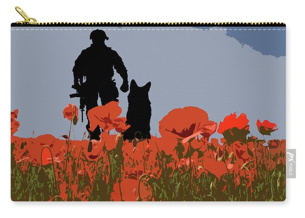 Flanders Fields 9 Carry-all Pouch