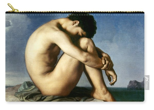 Flandrin: Nude Youth, 1837 Carry-all Pouch