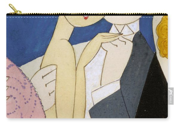 Flapper Roaring 20s Couple Dancing Phone Case Carry-all Pouch