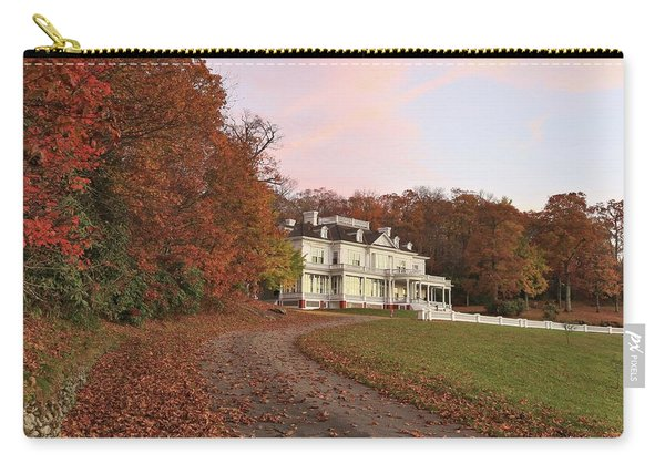 Flat Top Manor At Sunrise Carry-all Pouch