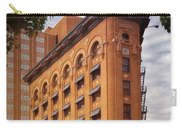 Flatiron Building Fort Worth Carry-all Pouch