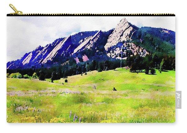 Flatirons - Boulder, Colorado Carry-all Pouch