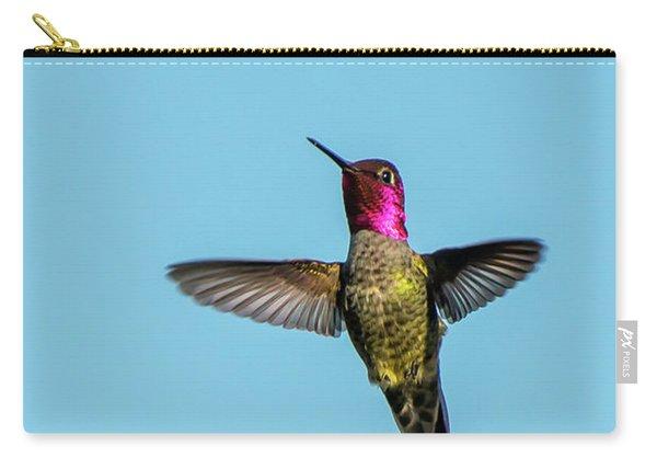 Flight Of A Hummingbird Carry-all Pouch