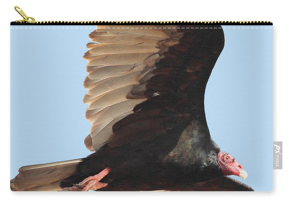 Flight Of A Vulture Carry-all Pouch