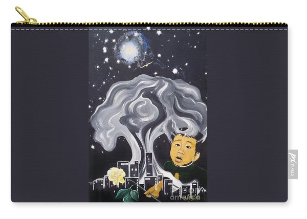 Flying Lamb Productions                Flight Of Hope Carry-all Pouch