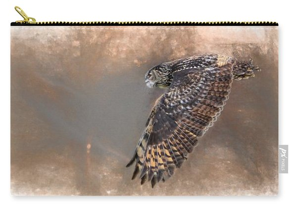 Flight Of The Eagle Owl Carry-all Pouch