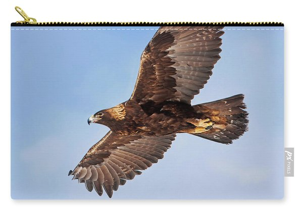 Flight Of The Golden Eagle Carry-all Pouch