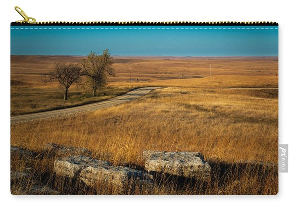 Flint Hills Two Trees Carry-all Pouch