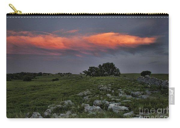 Flinthills Sunset Carry-all Pouch