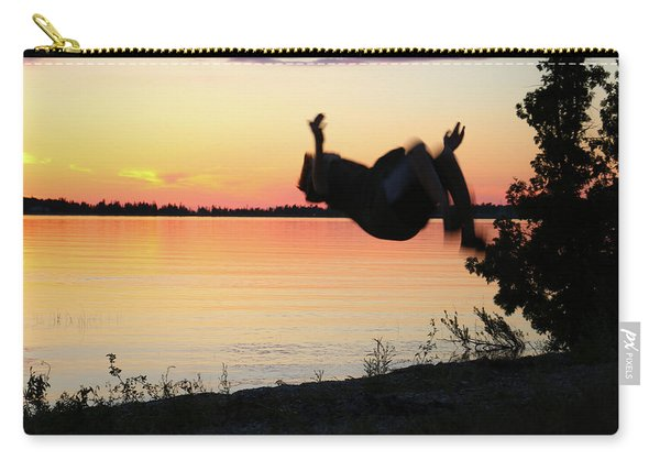 Flips At Sunset Carry-all Pouch