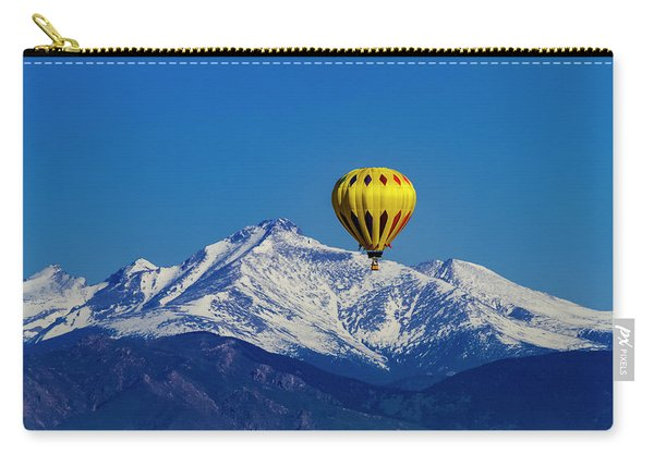 Floating Above The Mountains Carry-all Pouch