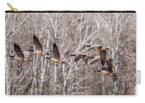 Flock Of Geese Carry-all Pouch