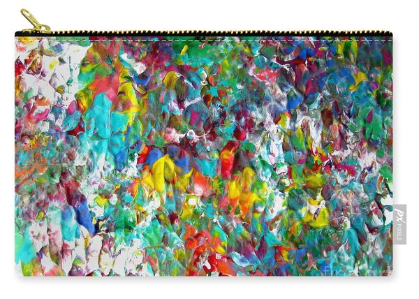 Floral Abstract 0715 Carry-all Pouch