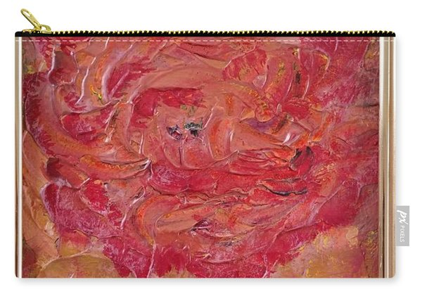 Floral Abstract 1 Carry-all Pouch