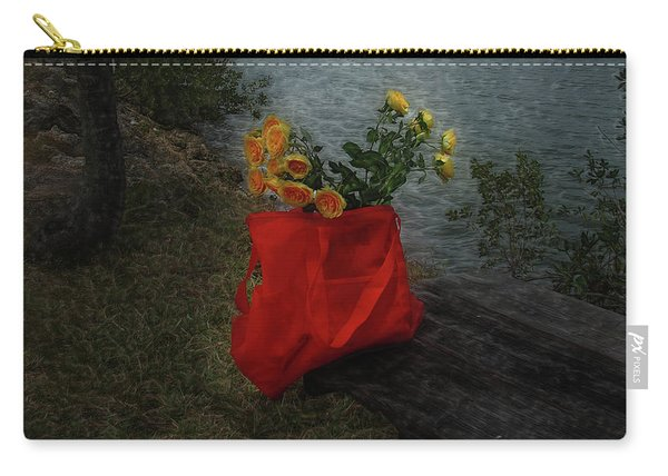 Floral Art 11 Carry-all Pouch