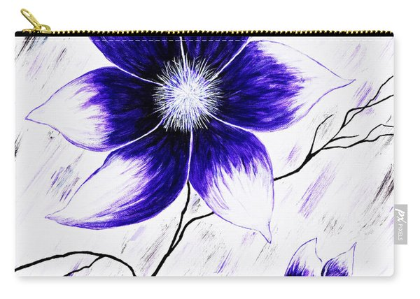 Floral Awakening Carry-all Pouch