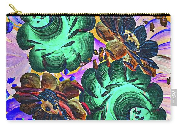 Floral Beyond Carry-all Pouch