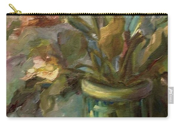 Floral Bouquet Carry-all Pouch