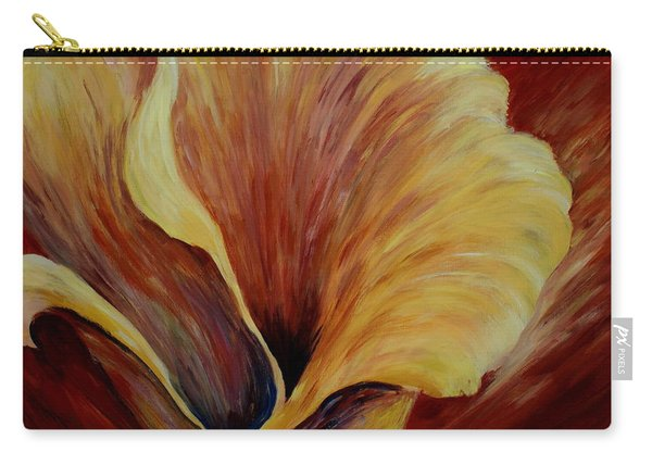 Floral Close Up Carry-all Pouch