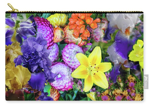 Floral Collage 02 Carry-all Pouch
