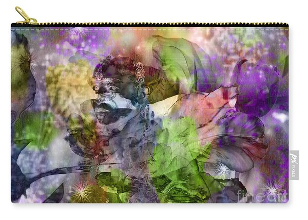Floral Dream Of Oriental Beauty Carry-all Pouch
