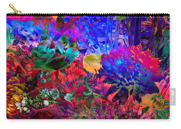 Floral Dream Of Summer Carry-all Pouch