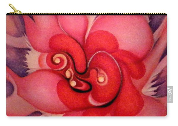 Floral Energies Carry-all Pouch