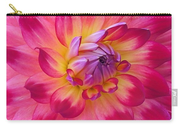 Floral Fantasia Carry-all Pouch