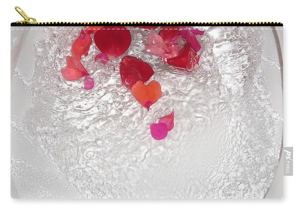 Floral Flush Carry-all Pouch