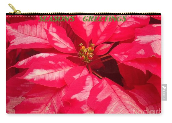 Floral Greetings Carry-all Pouch