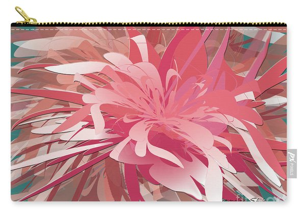 Floral Profusion Carry-all Pouch