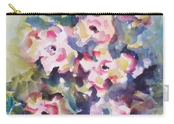 Floral Rhythm Carry-all Pouch