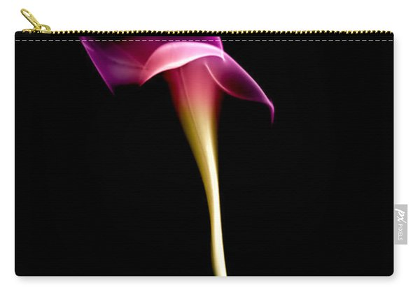 Floral Wisp Carry-all Pouch