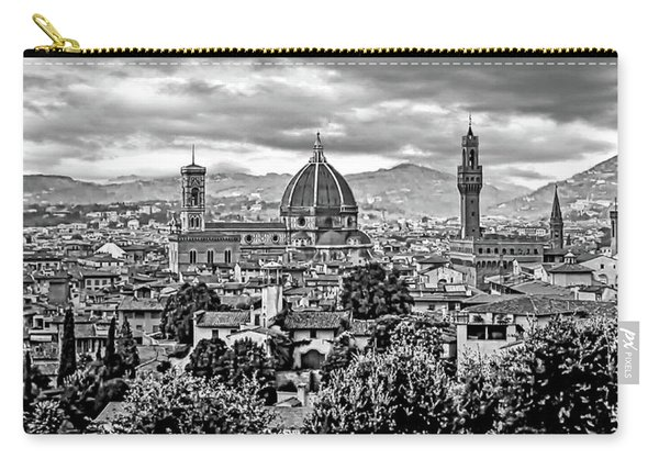 Florence 2 Bw Carry-all Pouch