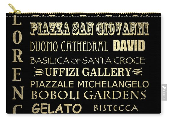 Florence Italy Famous Landmarks Carry-all Pouch
